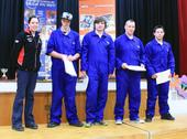 Aurora College B - 3rd Place BOC Gases Construction Award